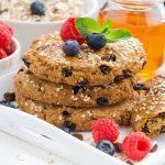 Recette santé de biscuits à l'avoine et aux bleuets séchés