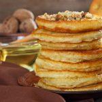 Recette gourmande de crêpes aux pommes, aux noix et à la farine d'épeautre