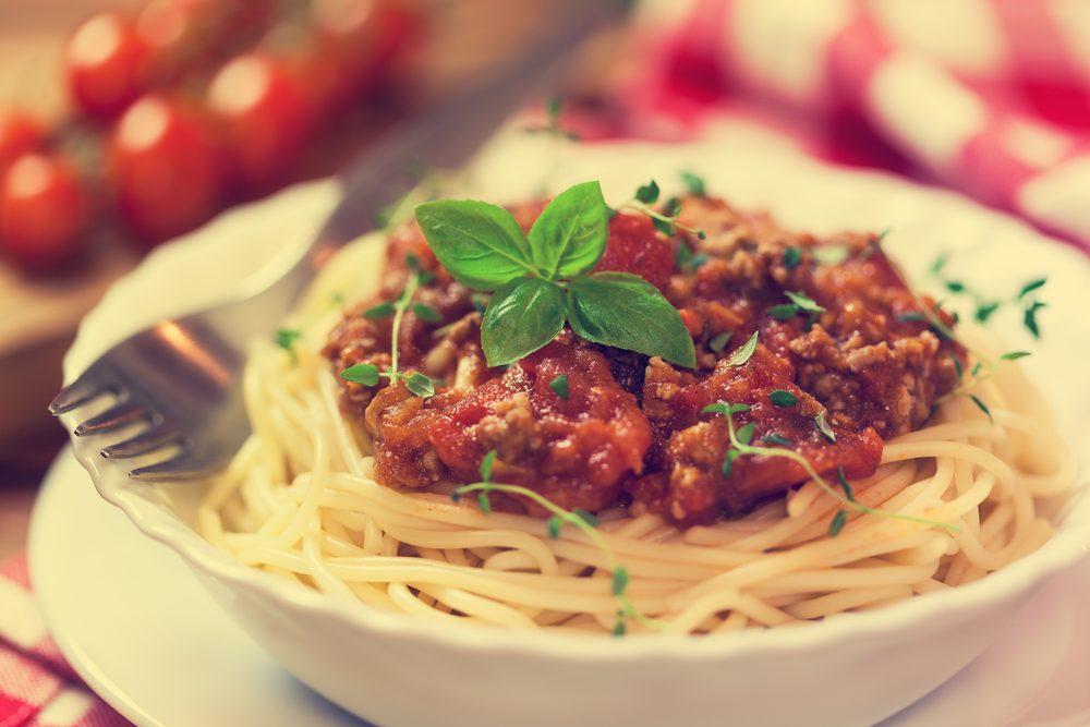 La meilleure recette de sauce bolognaise au vin rouge