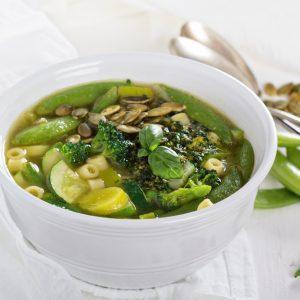 La meilleure recette de minestrone verte et pistou