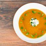 Recette santé de soupe aux légumes-racines