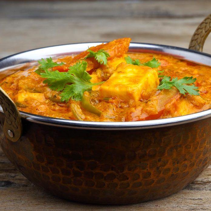Curry de patates douces au tofu