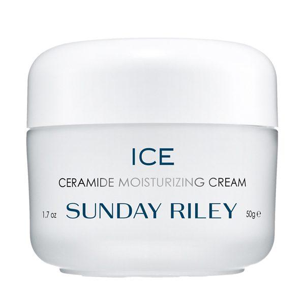 Crème hydratante aux céramides ICE Sunday Riley.