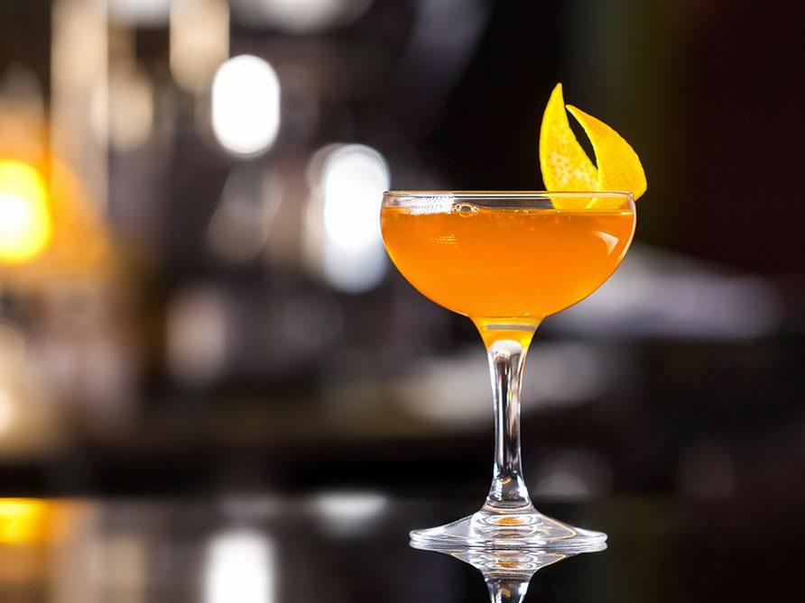 Cocktail orange et panais.