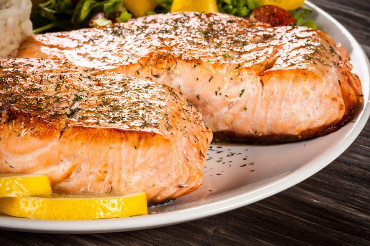 Saumon: la meilleure recette de pavé au saumon.