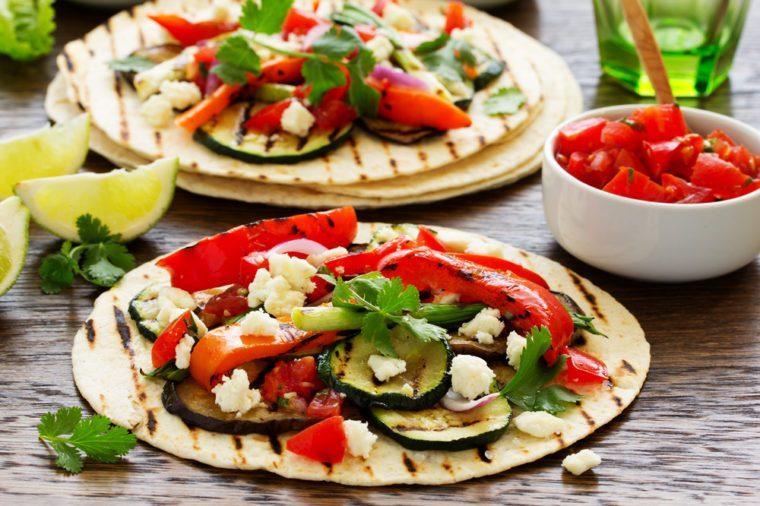 Ces tacos faibles en cholestérol sont excellents