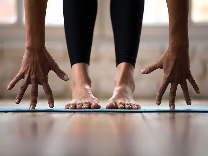 Comme se préparer à une série de postures de yoga?