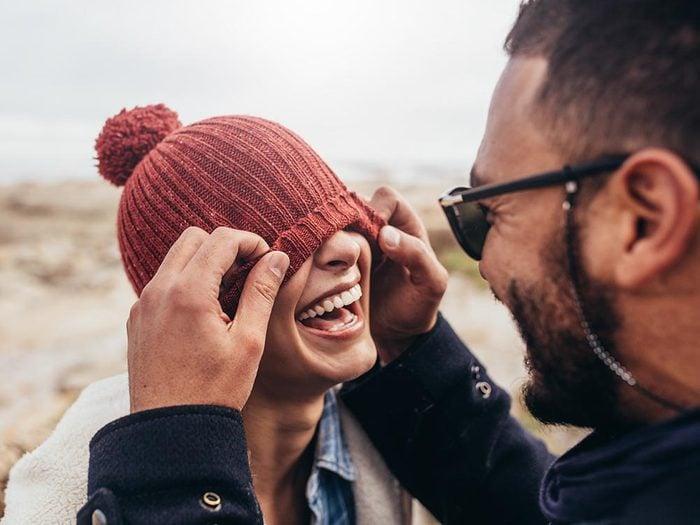 Les bienfaits du rire: il élargit l'esprit.