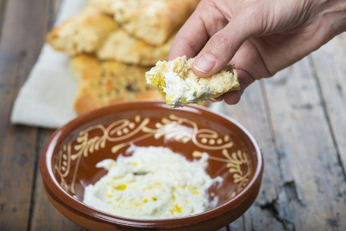 Déjeuner traditionnel iranien.