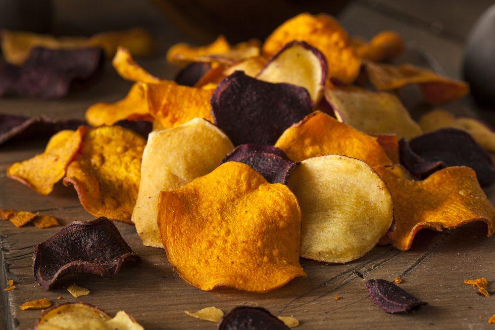 Les chips de légumes sont mauvaises pour la santé.