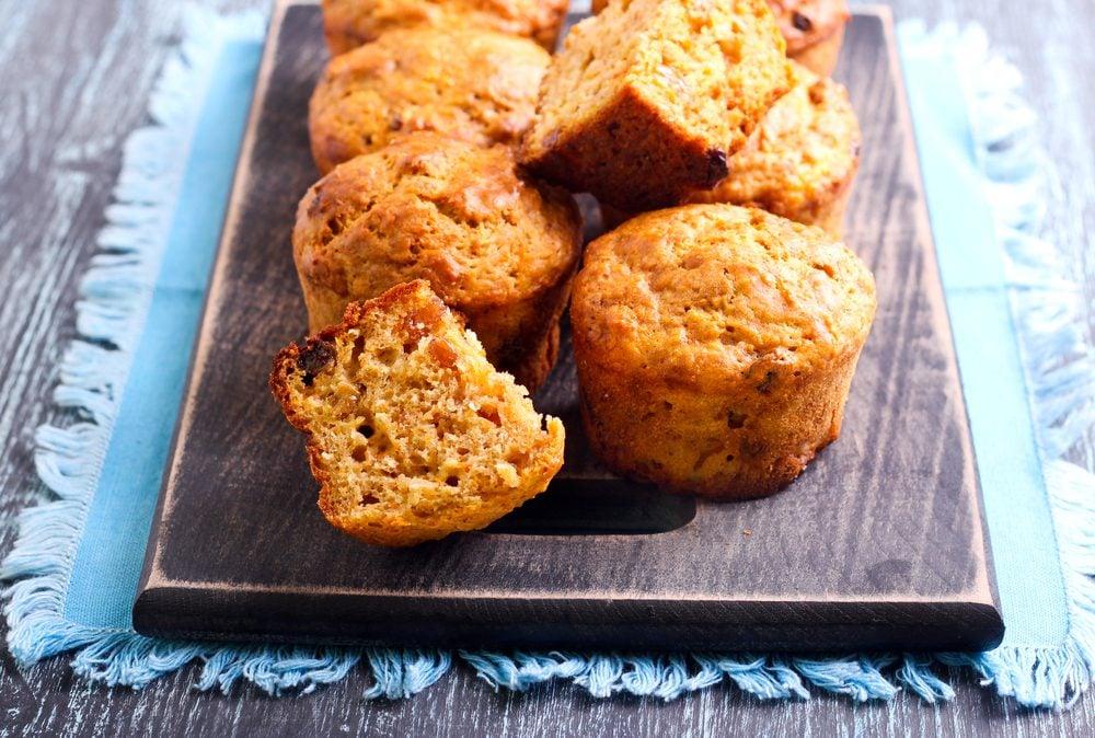 Des muffins faibles en glucides