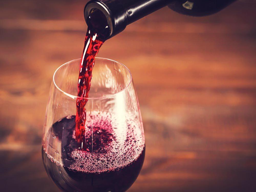 Pour mieux vivre, limitez votre consommation d'alcool.