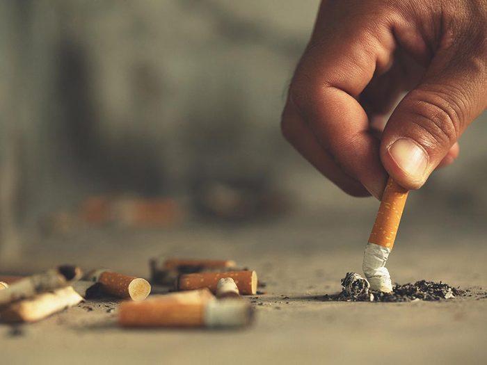 Pour mieux vivre, arrêtez de fumer ou ne commencez pas.
