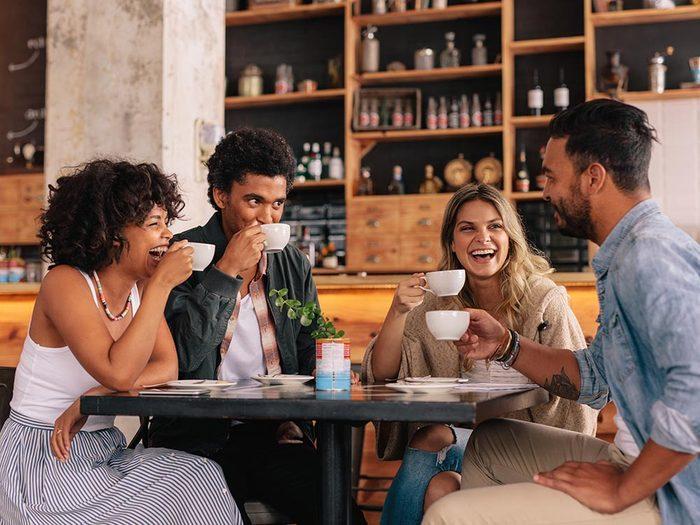 Pour mieux vivre, conservez vos liens sociaux.