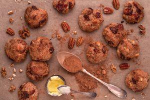 Biscuits à l'orange et aux pacanes