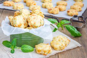 Biscuits à la tomate