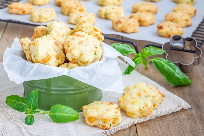 Une recette santé de biscuits à la tomate