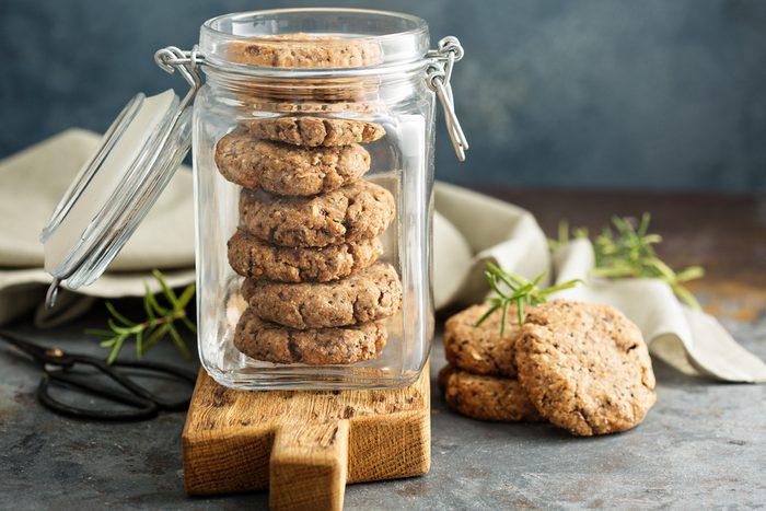 Une recette de biscuits santé