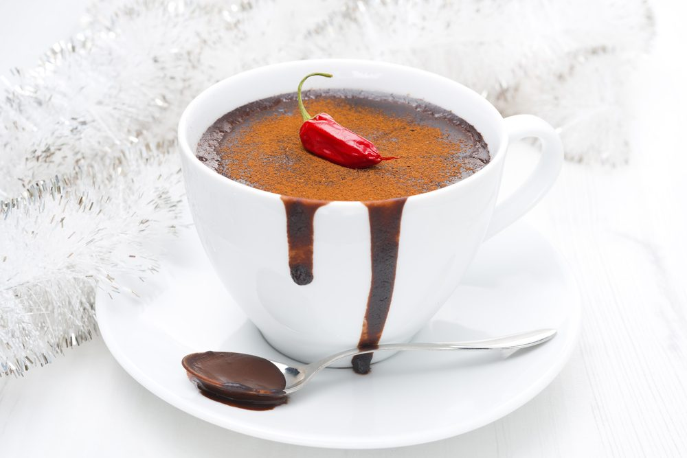 Un chocolat chaud au piment santé