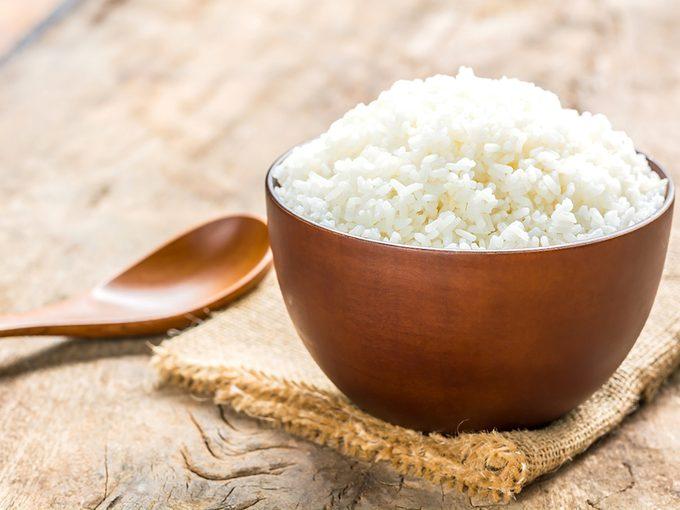 Du riz contre la gastro.