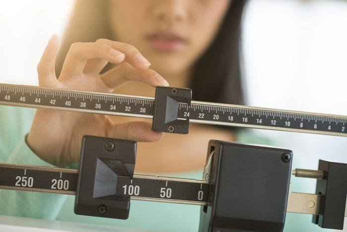 Perdre du poids: Vous pouvez avoir frappé un palier.