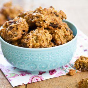 Recette facile de biscuits à l'avoine et aux raisins secs