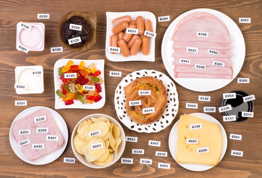 Liste des additifs alimentaires