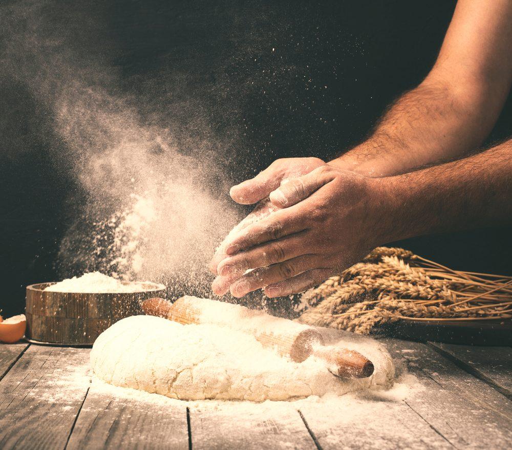 De la pâte à boulangerie