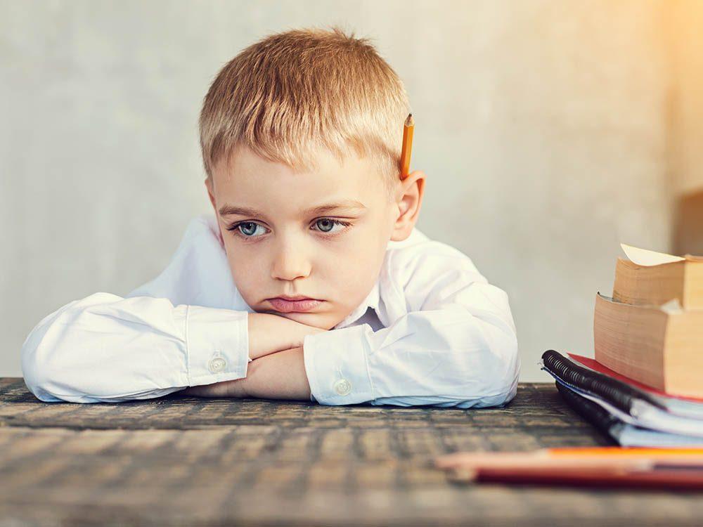 Encouragez vos enfants à aimer l'école.