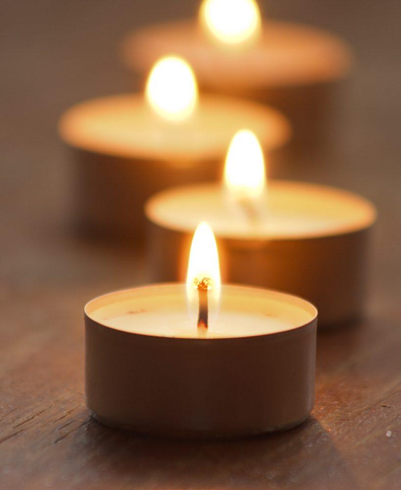 Les bougies parmi les causes d'incendie.
