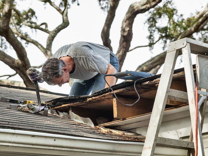 Le combat contre la moisissure commence lors de la construction de la maison.
