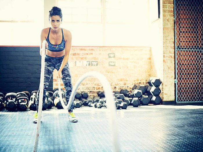 Favorisez la perte de poids en faisant au moins 30 minutes de sport par jour.