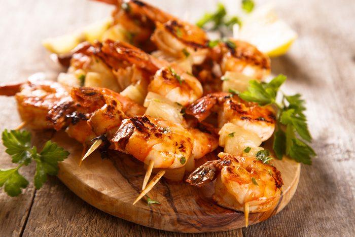 Une recette aphrodisiaque aux crevettes