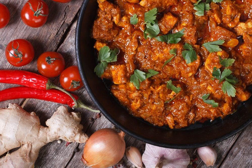 Une recette aphrodisiaque de curry