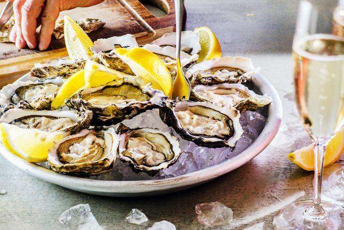 Une recette aphrodisiaque aux huîtres