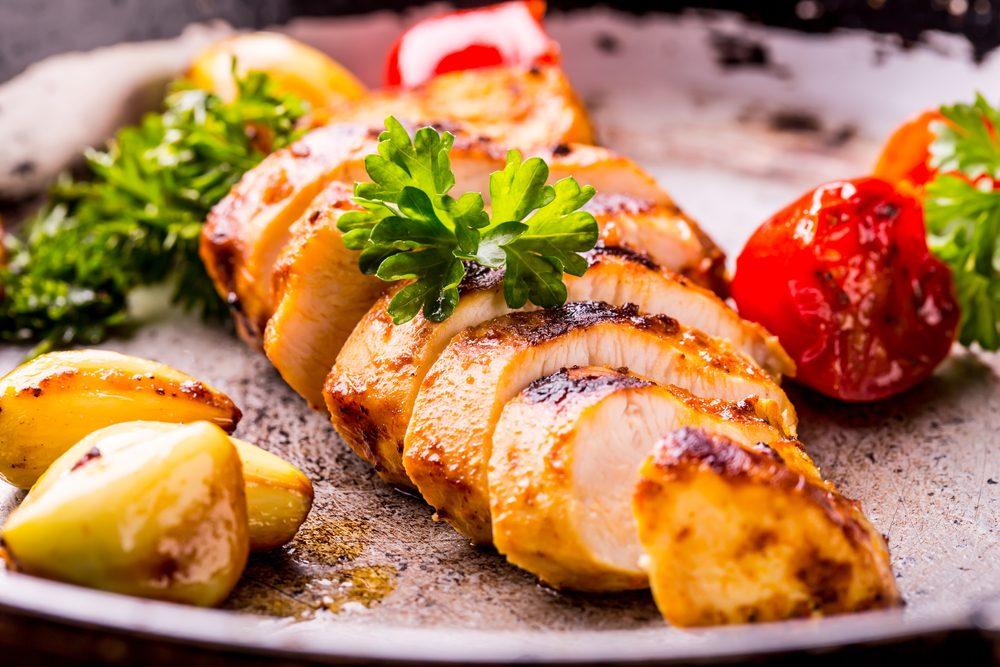 Une recette aphrodisiaque au poulet