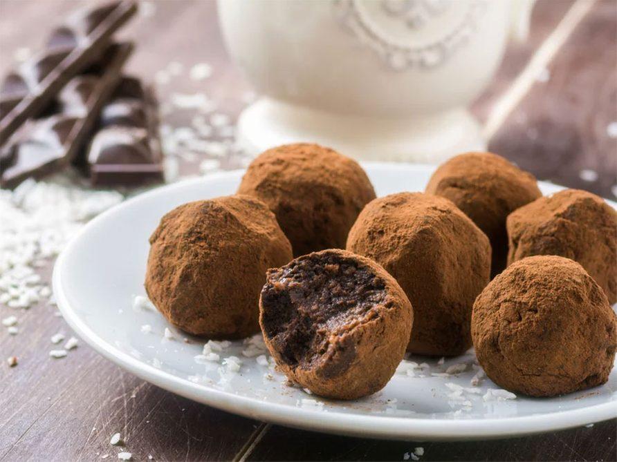 Recettes pour la Saint Valentin: des truffes aztèques aphrodisiaques.