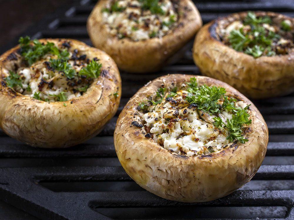 Préparez-vous en entrée facile avec champignons.