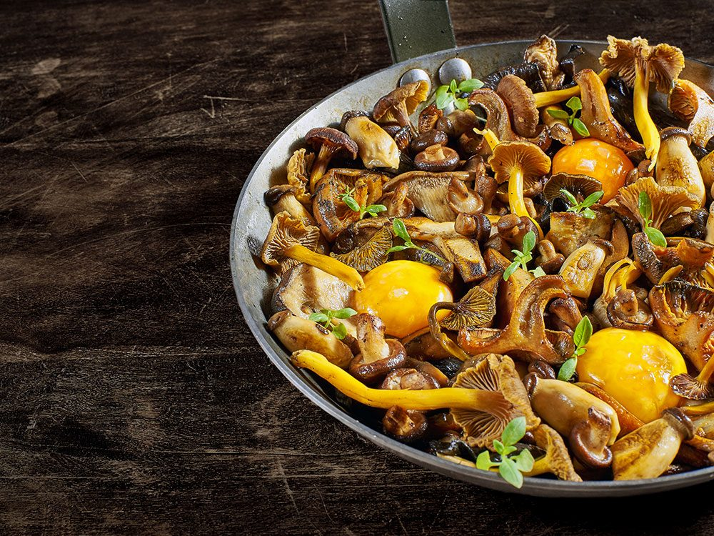 Les champignons stimulent votre métabolisme.