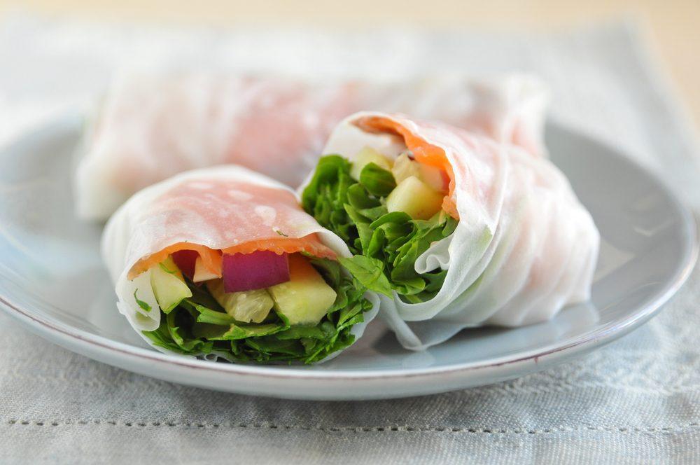 La meilleure recette végétarienne de rouleaux thaï