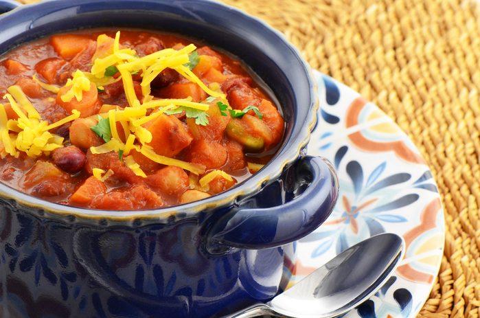 Une recette de repas faible en cholestérol