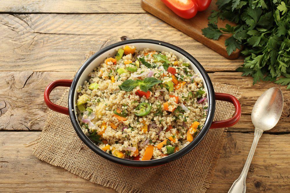 La meilleure recette végétarienne de couscous.