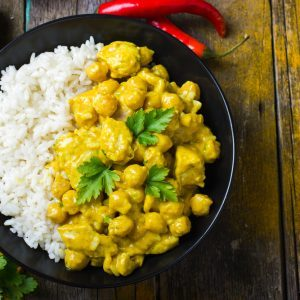 Curry de tofu à l'indienne
