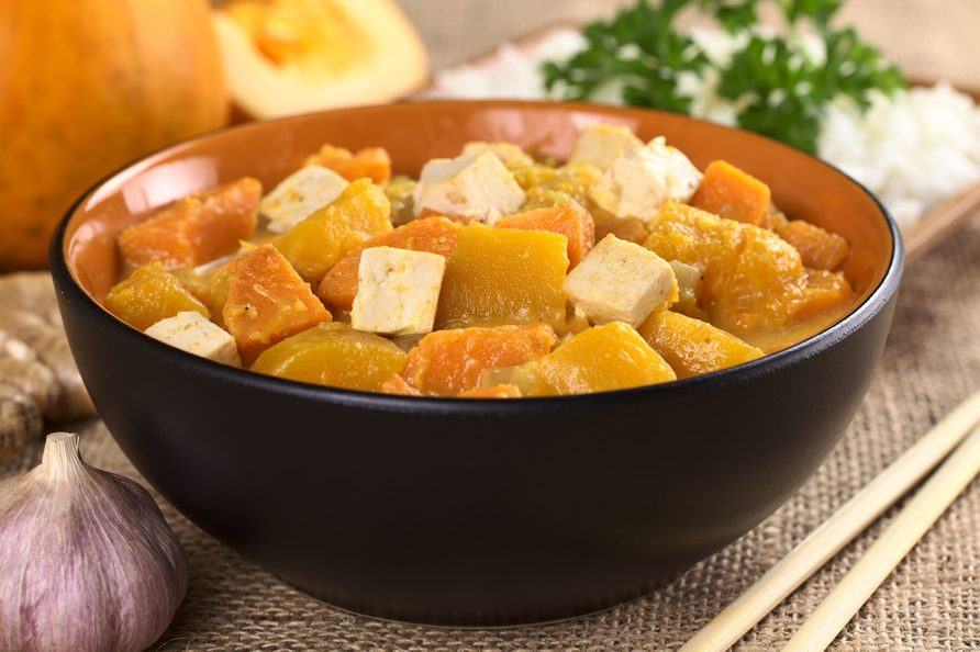Une recette de curry végétarien pour diabétiques.