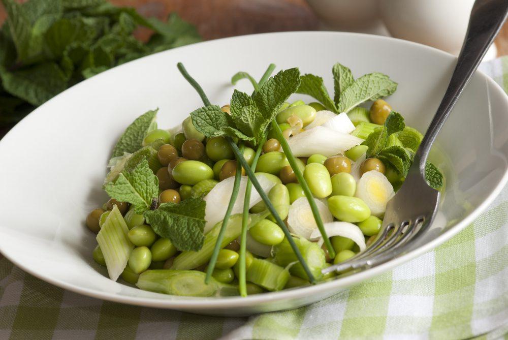 Une idée repas pour les lunchs de salade de gourganes
