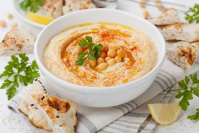 Une recette méditerranéenne, le hummus.