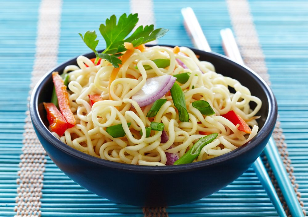 La meilleure recette végétarienne de nouilles asiatiques