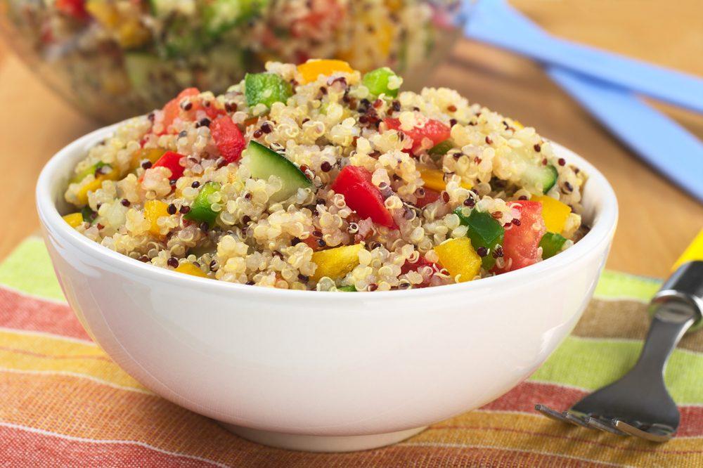 L'une des meilleures recettes végétariennes avec du quinoa