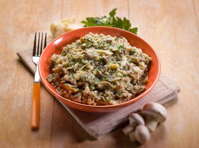 La meilleure recette végétarienne de risotto