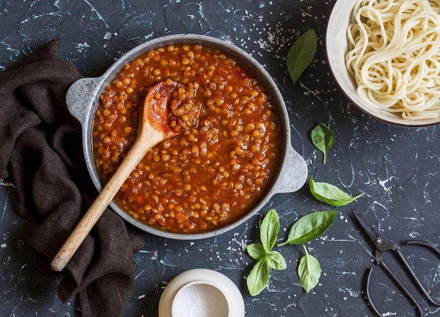 Les meilleures recettes végétariennes de spaghetti.